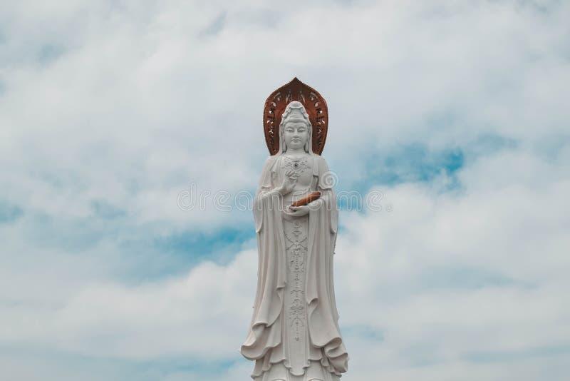 Nanshan Buddhism Cultural Park Sanya China.  stock image
