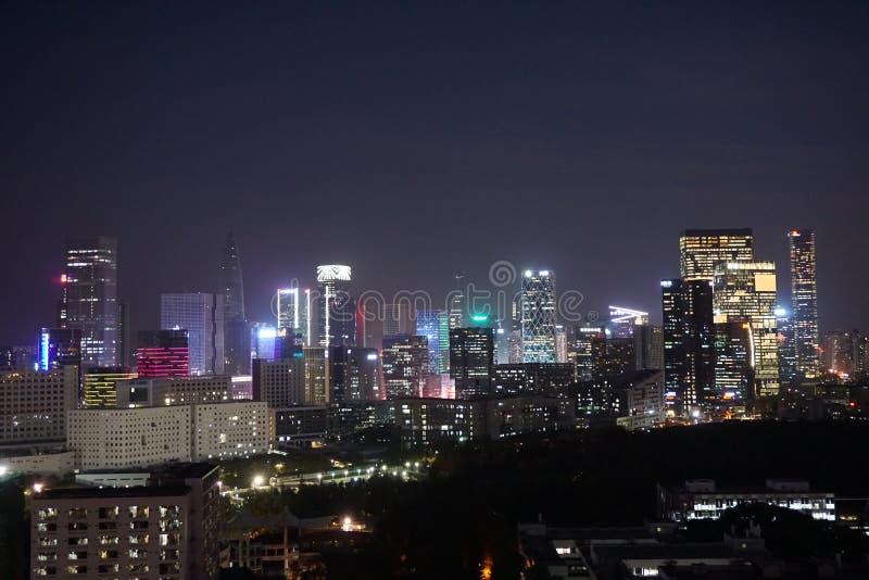 Nanshan område av Shenzhen royaltyfria bilder
