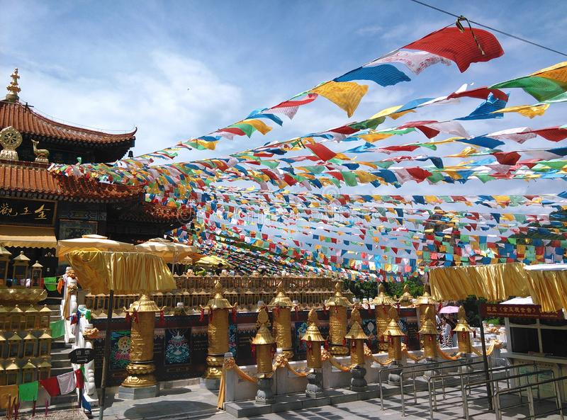 Nanshan-Tempel in Sanya, Hainan in China lizenzfreie stockfotografie