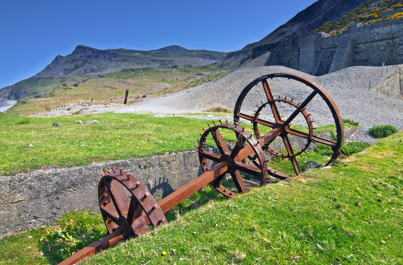 Nant Gwrtheyrn royalty free stock images