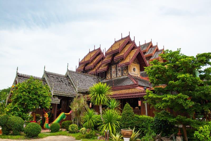 Nantaram temple in Phayao province. Thailand royalty free stock image