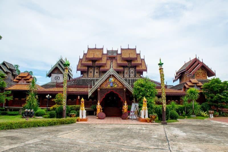 Nantaram temple in Phayao province. Thailand stock photo