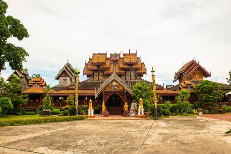 Nantaram temple in Phayao province. Thailand stock photos
