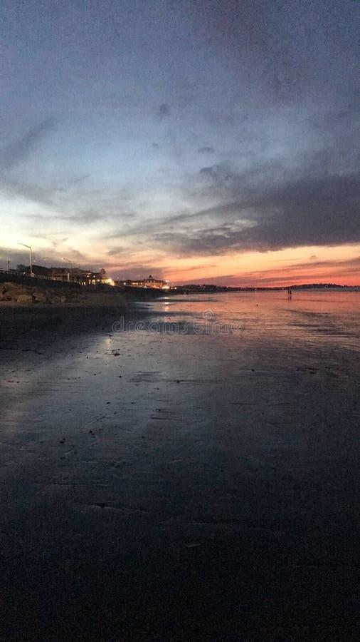 Nantasket beach stock photo
