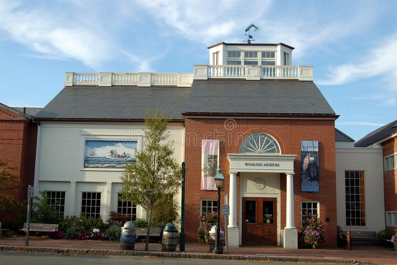 Nantucket, MA: The Whaling Museum royalty free stock photography