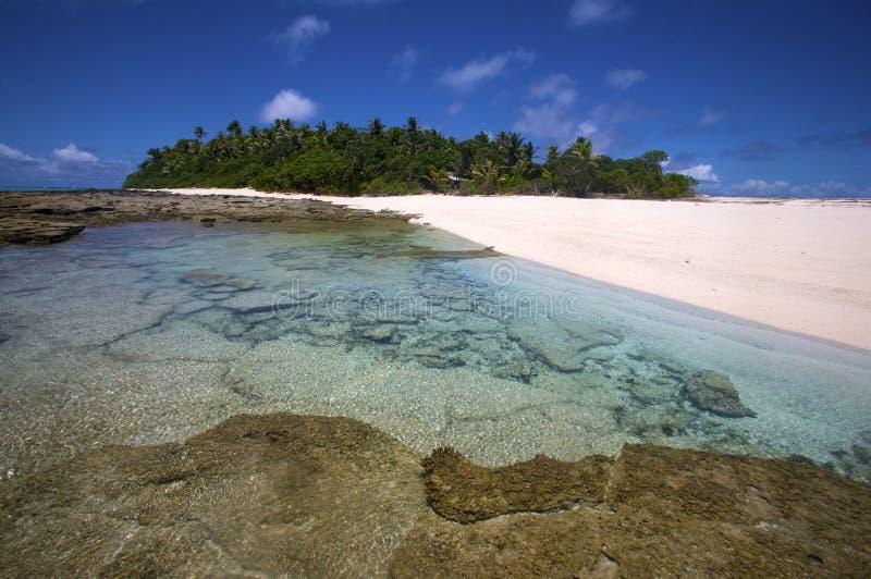 Nanuku Levu,斐济岛 库存照片