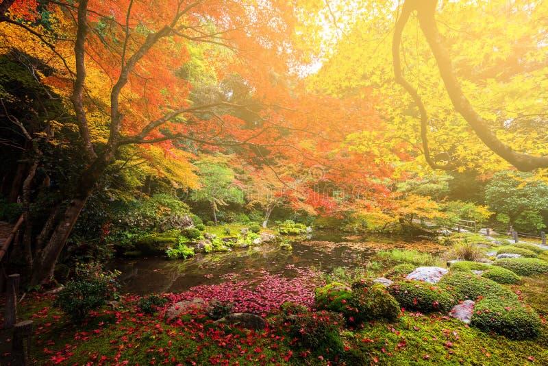 Nanzen-ji en el otoño, Kyoto fotografía de archivo