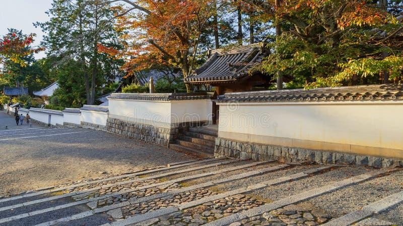 Nanzen-ji tempel i Kyoto, Japan royaltyfria foton