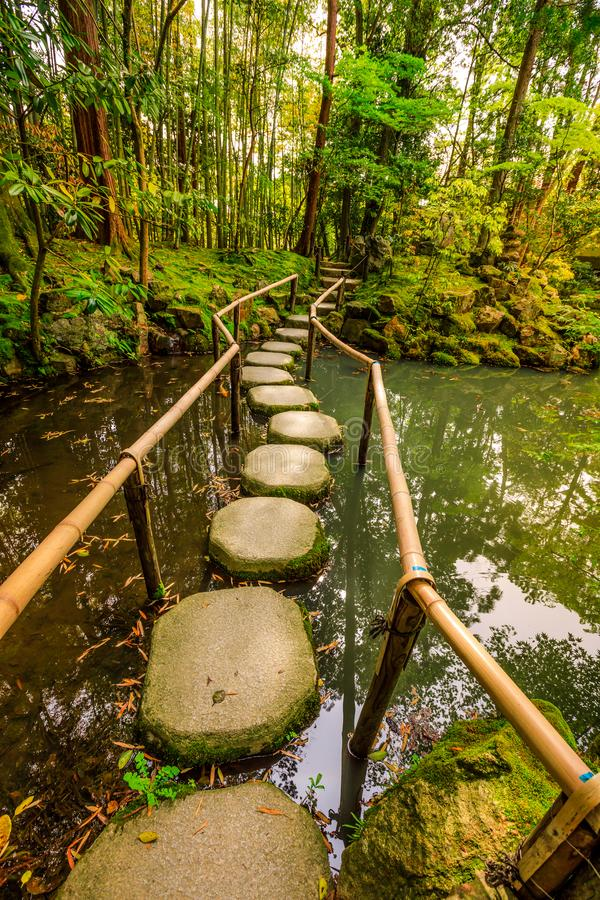 Nanzen-ji Zen Garden imagenes de archivo