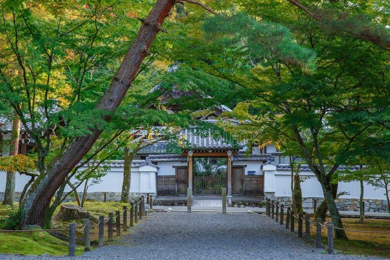 Nanzen-jitempel in Kyoto lizenzfreies stockbild