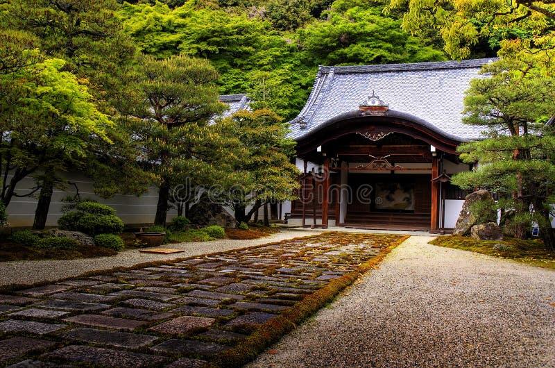Nanzen -nanzen-ji royalty-vrije stock afbeeldingen