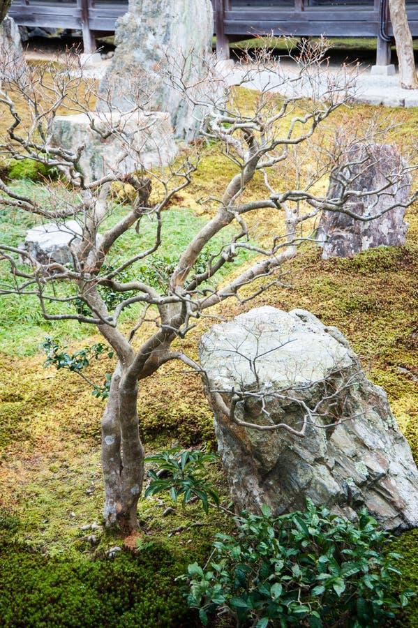 Nanzenji Temple meditation garden stock image