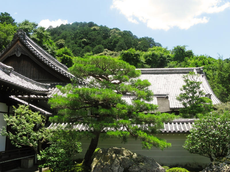 Nanzenji Temple and Stone Garden stock image