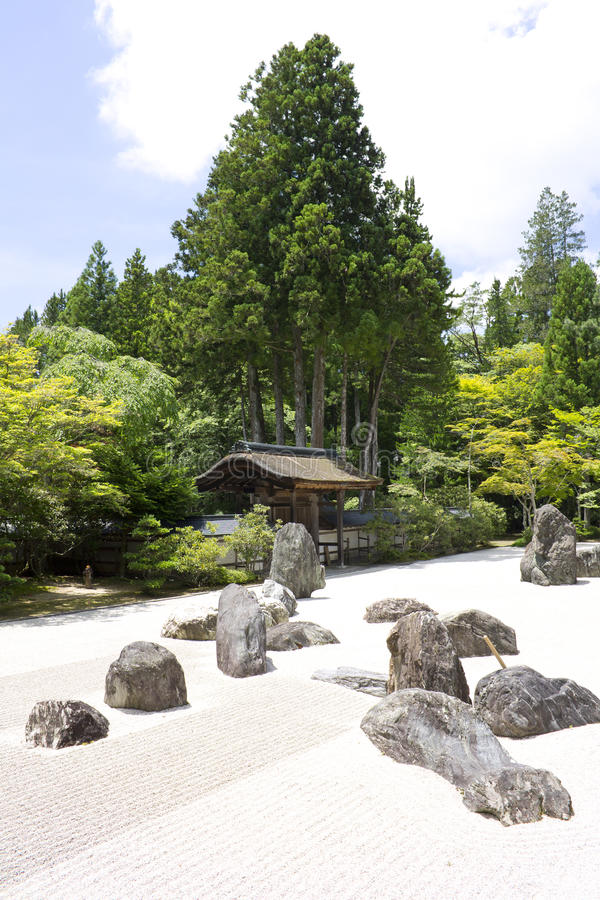Nanzenji Temple Stone Garden royalty free stock photo