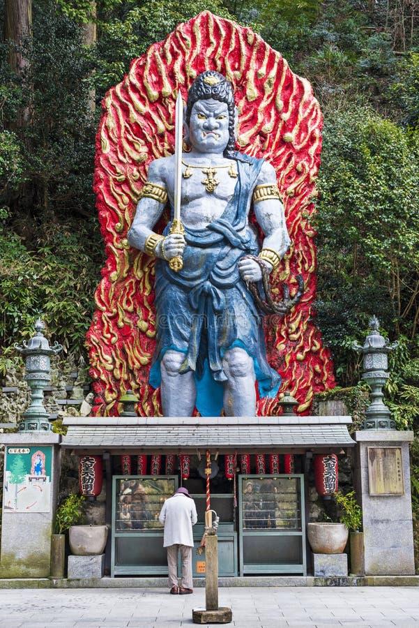 Nanzoin tempel royaltyfri foto