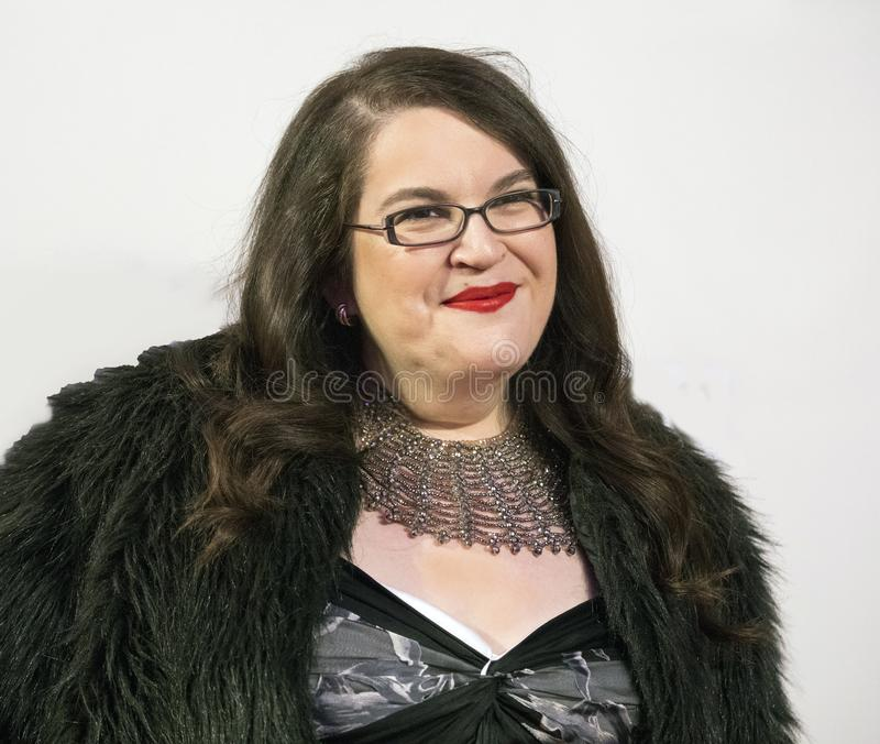 Naomi市议员为`忤逆`首放到达2018年Tribeca电影节 库存图片