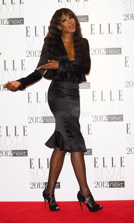 Naomi Campbell fotos de stock