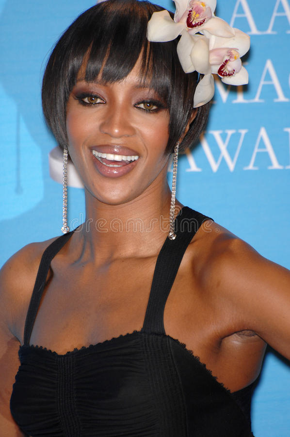 Naomi Campbell. At the 38th NAACP Image Awards at the Shrine Auditorium, Los Angeles. March 3, 2007 Los Angeles, CA Picture: Paul Smith / Featureflash stock image