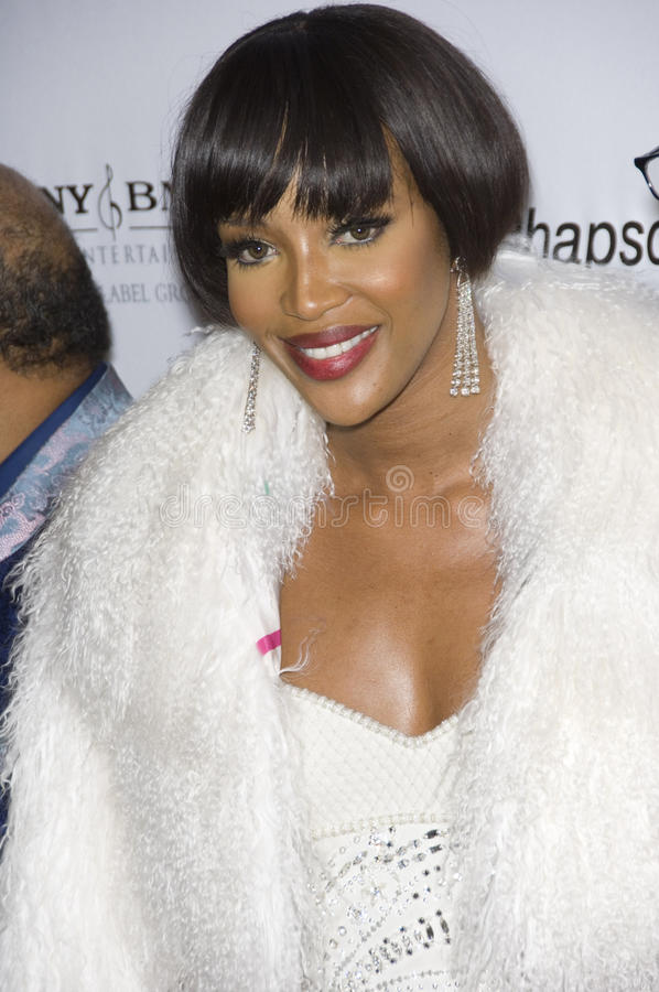Naomi Campbell. At the Clive Davis pre-Grammy Party at the Beverly Hilton Hotel. February 11, 2007 Beverly Hills, CA Picture: Paul Smith / Featureflash royalty free stock photo