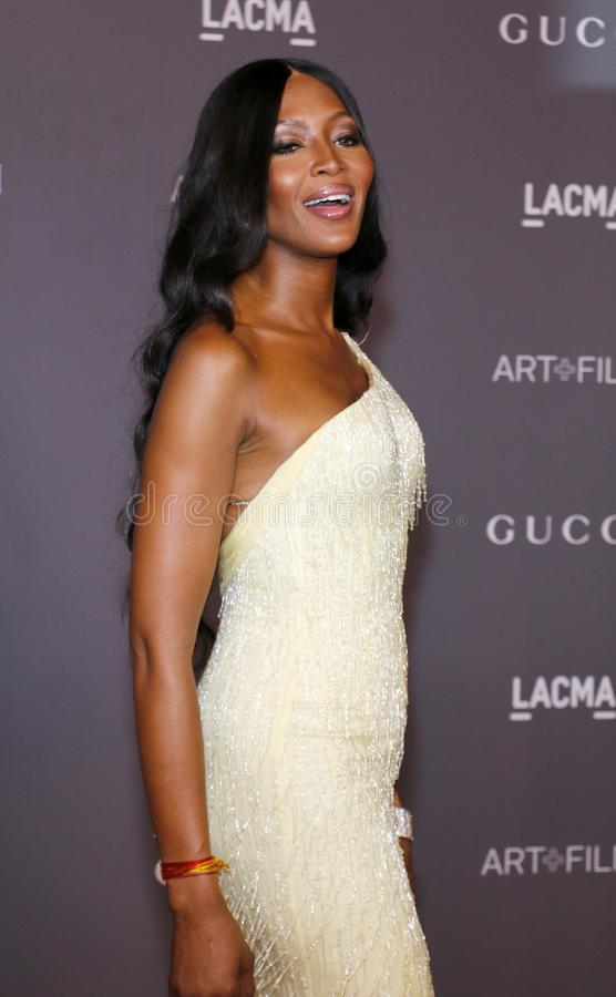 Naomi Campbell. At the 2017 LACMA Art Film Gala held at the LACMA in Los Angeles, USA on November 4, 2017 royalty free stock photography