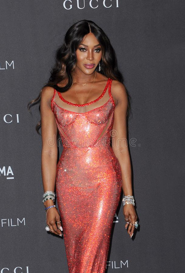 Naomi Campbell royalty free stock images