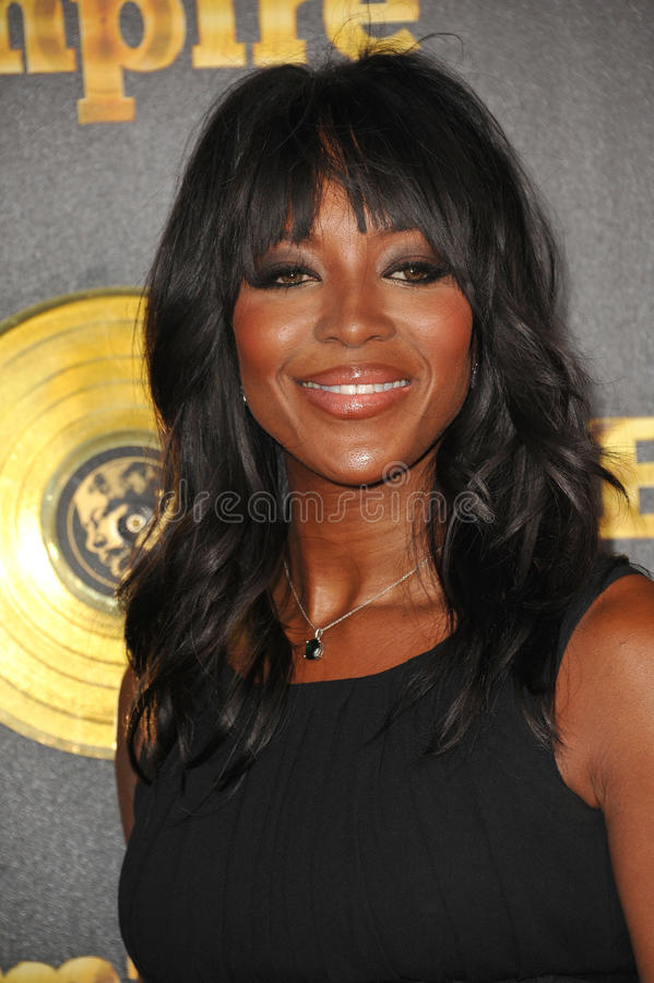 Naomi Campbell. LOS ANGELES, CA - JANUARY 6, 2015: Supermodel Naomi Campbell at the premiere of Fox's new TV series Empire at the Cinerama Dome, Hollywood stock photos
