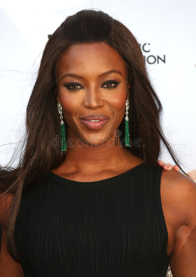 Naomi Campbell. At the Novak Djokovic Foundation Event held at the Roundhouse, Camden, London. 08/07/2013 Picture by: Henry Harris / Featureflash royalty free stock image