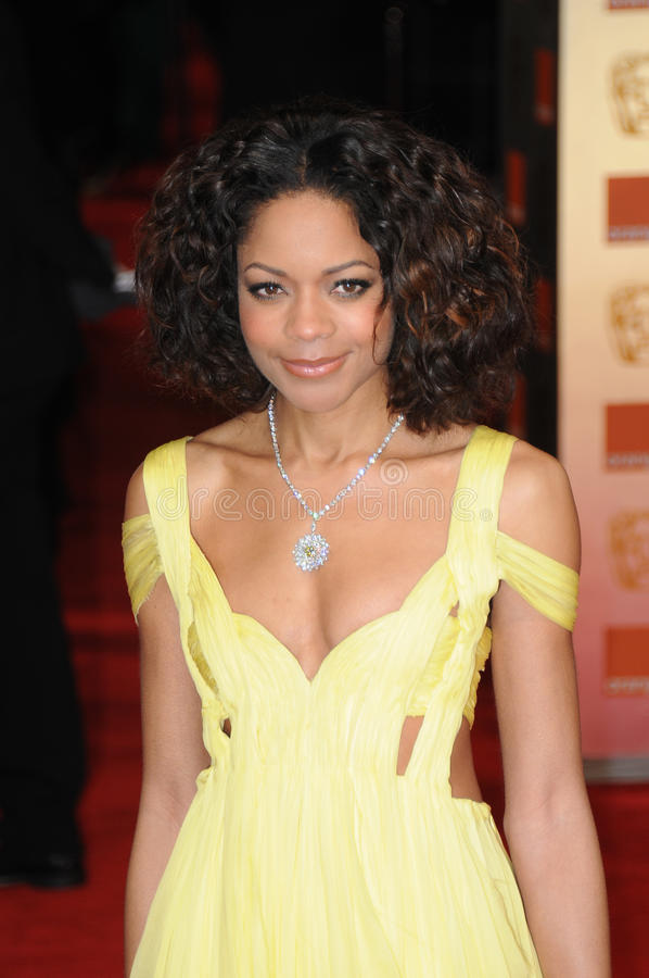 Naomie Harris. Attends the Orange British Academy Film Awards 2012 at the Royal Opera House. February 12, 2012, London, UK Picture: Catchlight Media / royalty free stock photo