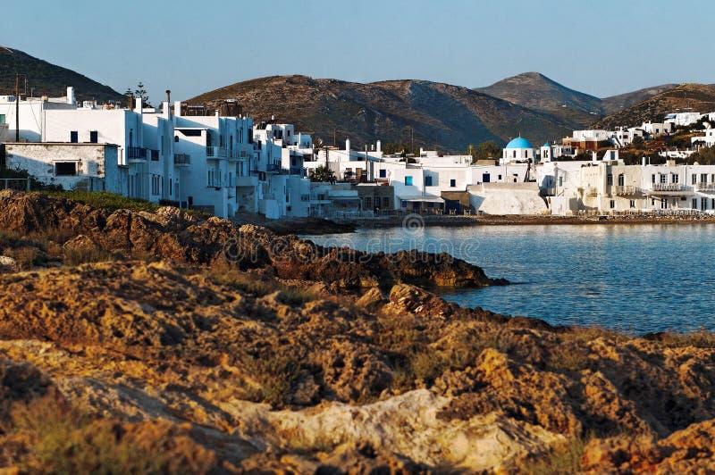 Naoussa, Grèce images libres de droits