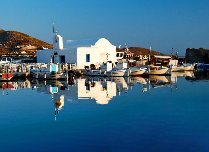 Naoussa Grekland arkivbilder