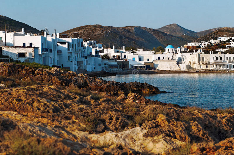 Naoussa Grekland royaltyfria bilder