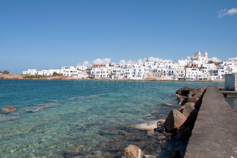 Naoussa, Paros Insel lizenzfreie stockfotografie
