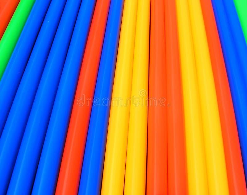 napój abstrakcjonistyczna kolorowa słoma obrazy stock