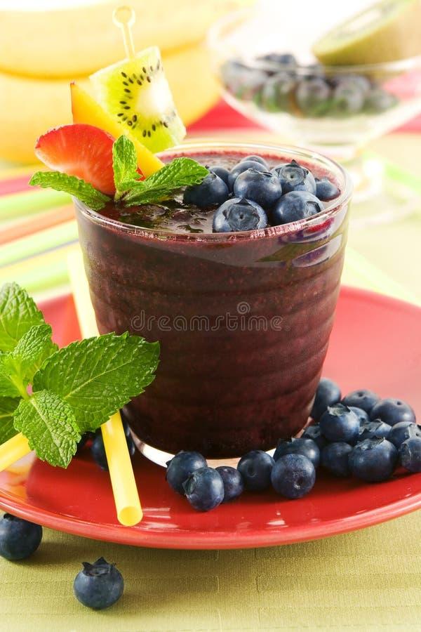 napój blueberry zdjęcia stock
