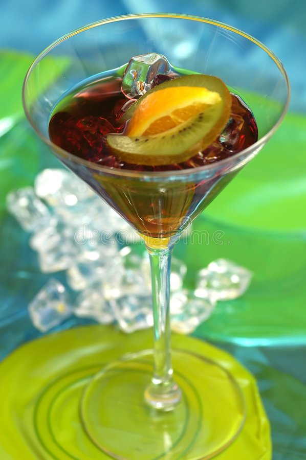 napój Martini zdjęcia royalty free