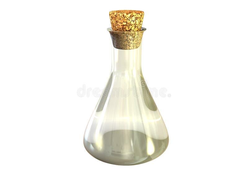 Napój miłosny butelka ilustracja wektor