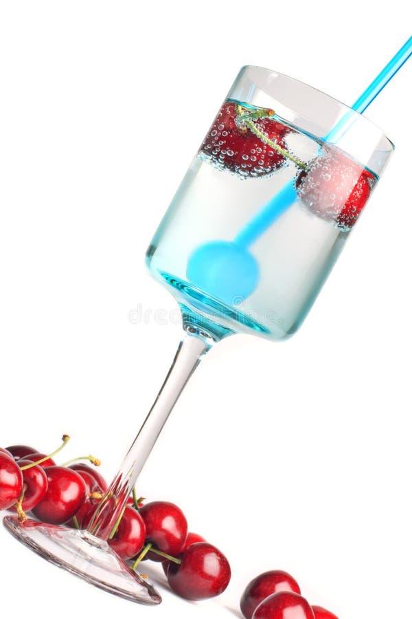 napój wiśniowy zdjęcia stock
