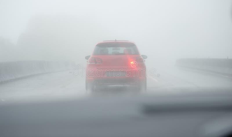 napędowa mgła obrazy stock