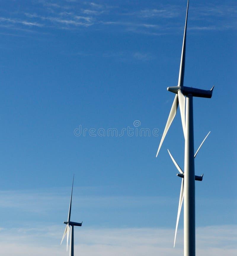 napędzany generatora wiatr zdjęcia stock