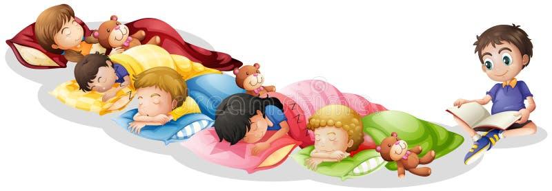 Nap time vector illustration