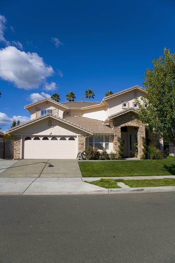 Download Napa County, CA Custom Home Stock Photo - Image: 1379054