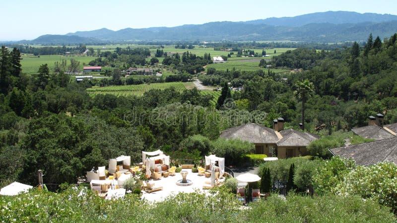 Napa Valley foto de stock