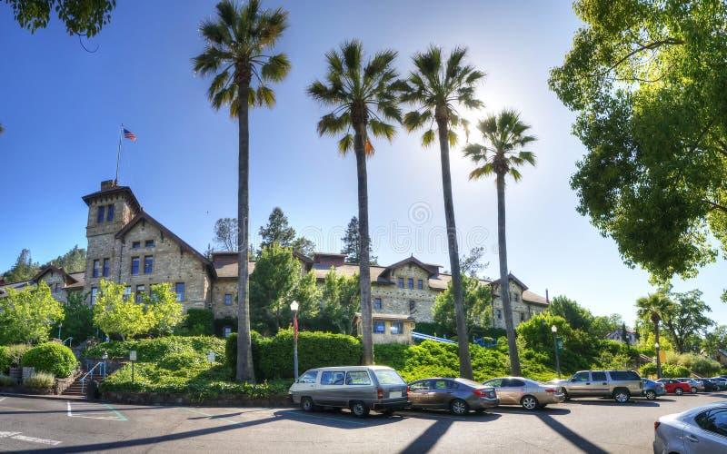 Napa Valley em junho - Califórnia - EUA fotografia de stock