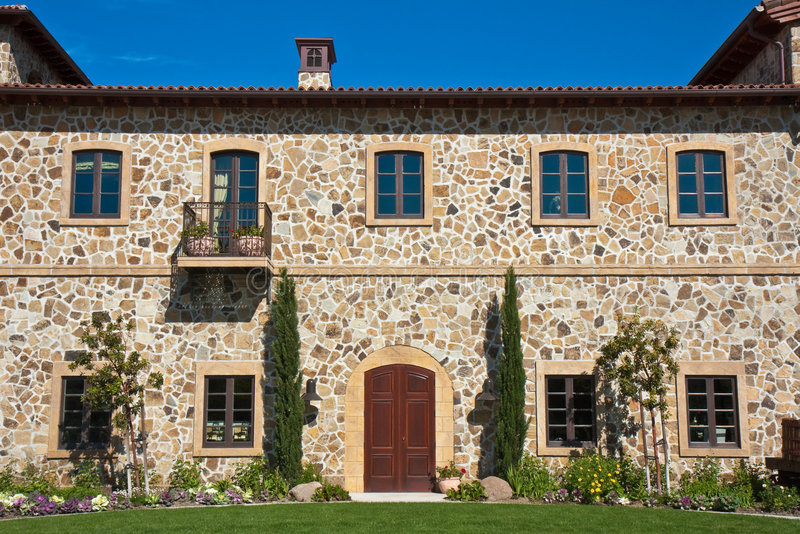 Download Napa Valley Winery stock photo. Image of entrance, daylight - 9161778