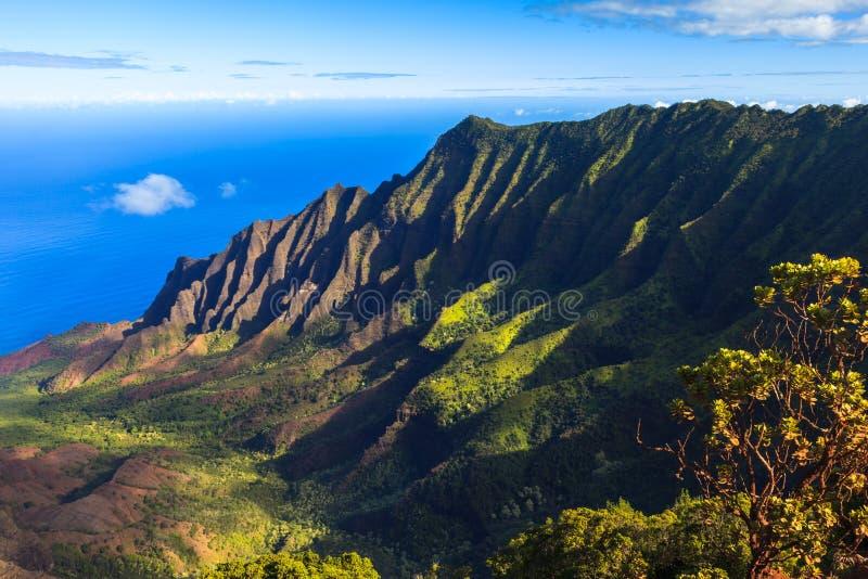 Download Napali Coast Mountains stock image. Image of paradise - 27808983