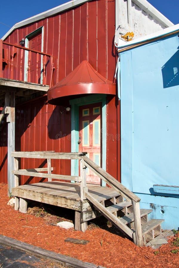 Napels, Historische Haven, Tin City stock foto