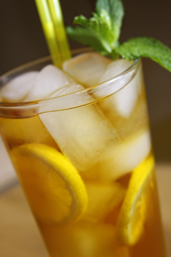 napić mrożonej herbaty zdjęcie royalty free