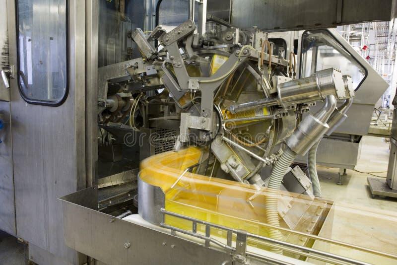 napić się soku produkcji wina fotografia stock