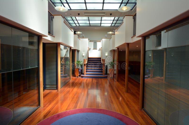 Napier - New Zealand. NAPIER, NZL - DEC 03 2014:Art deco Architecture in Napier.It's a popular tourist city with a unique 1930s Art Deco architecture, built royalty free stock photo