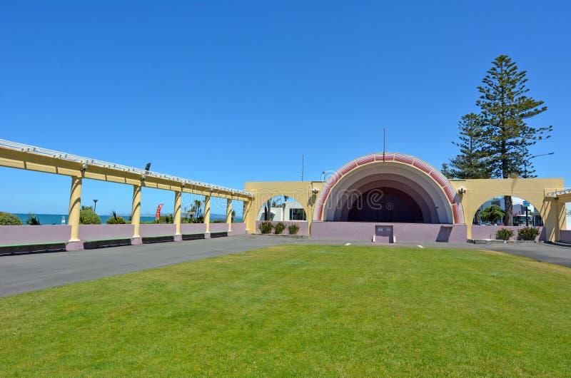 Napier - Nieuw Zeeland stock foto's